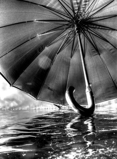 ombrello galleggiante