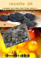 omelette aux truffes .............