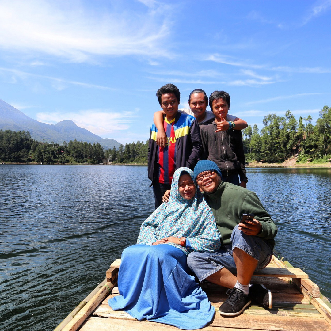 on a Lake Family