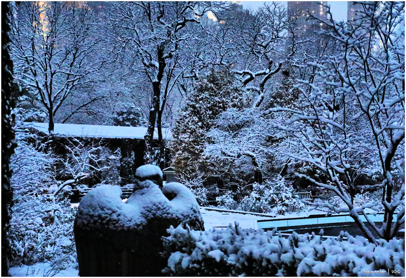 On a Snowy Evening in Central Park - No.10