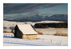 On a winter afternoon - An einem Winternachtmittag