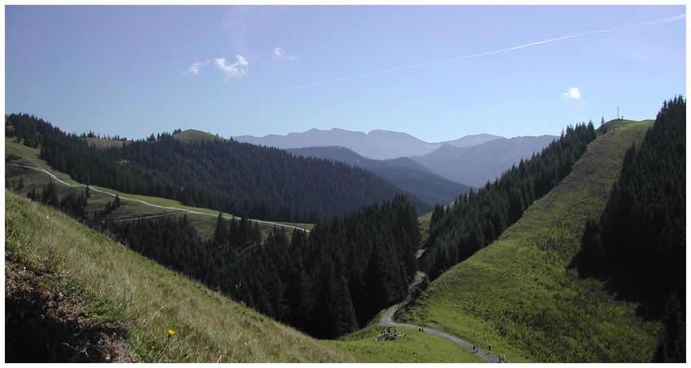 On Horn hill - Auf dem Hörnle