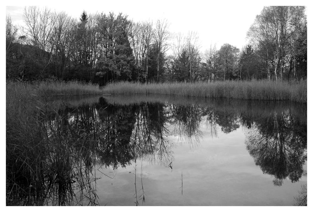 On l'appelle le lac noir...