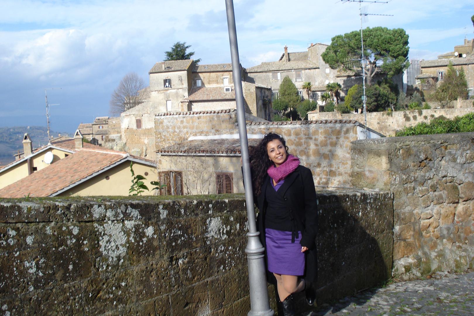 on medieval area