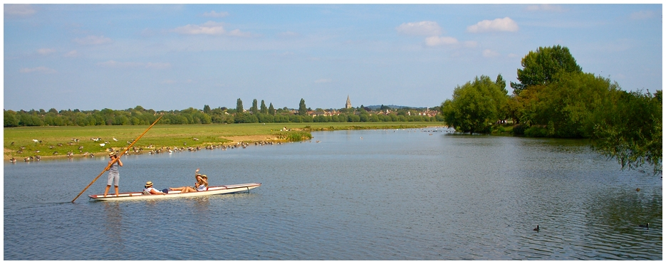 On River Thames Through Port Meadow
