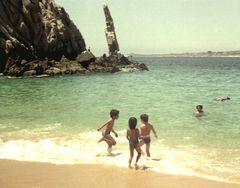 On the beach at Cabo San Lucas