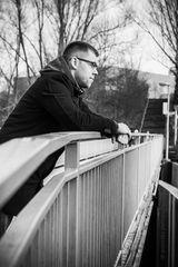 On the bridge | Chris