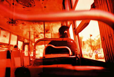 .....on the bus..