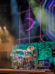 on the drums Ian Paice