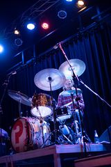 on the drums Marcus Rieck