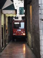 On the road - in Kotor