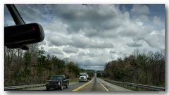 on the road... in the Smoky-Mountains