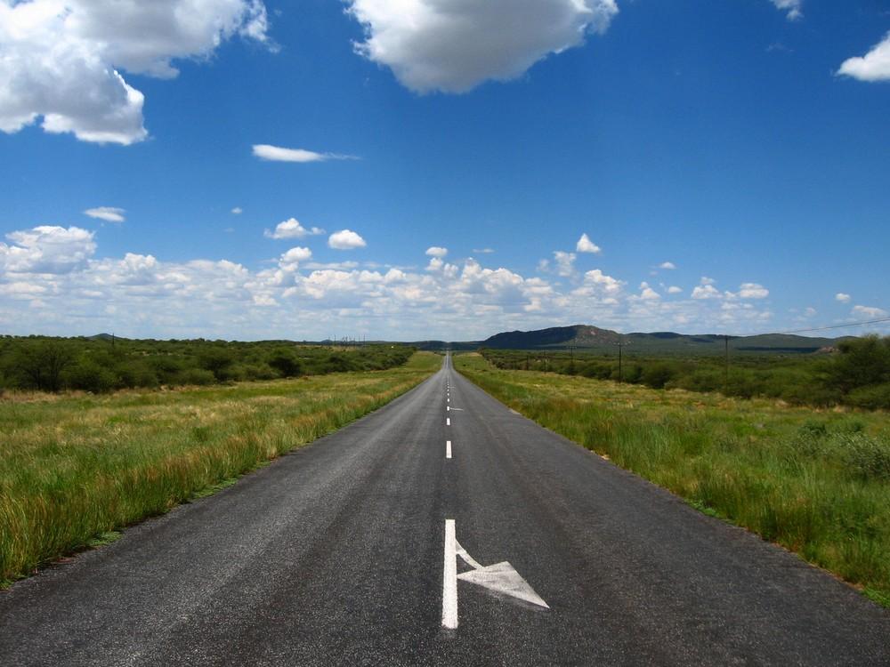On the road to Etosha...