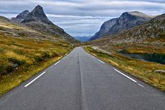 On the road to Trollstigen