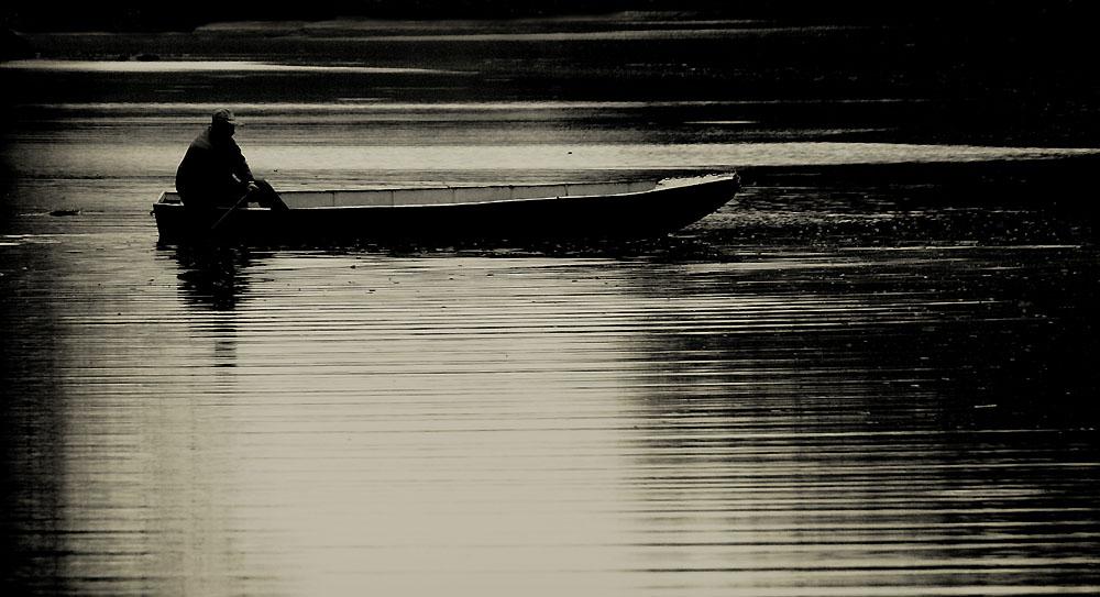On the still water