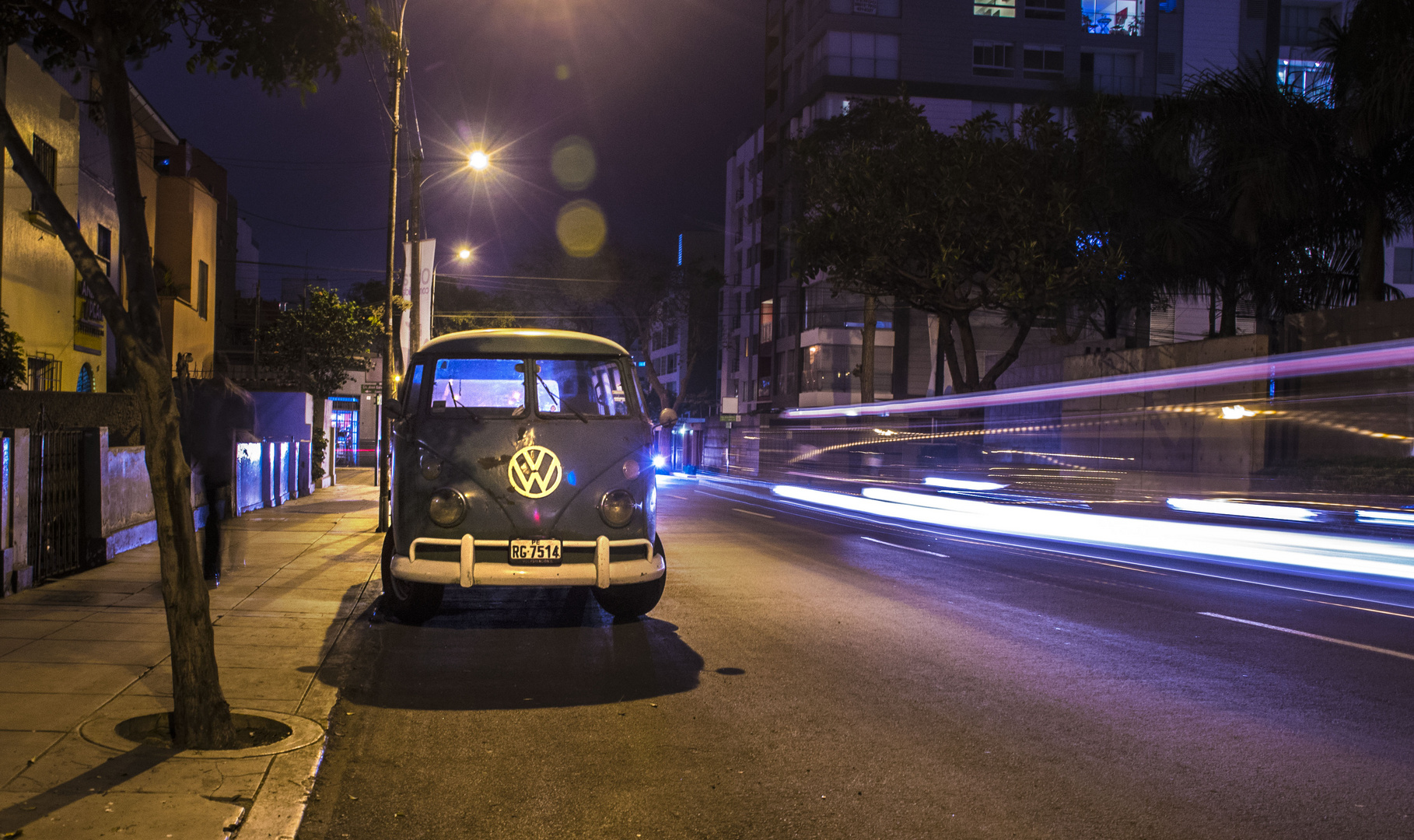 On the streets of Lima