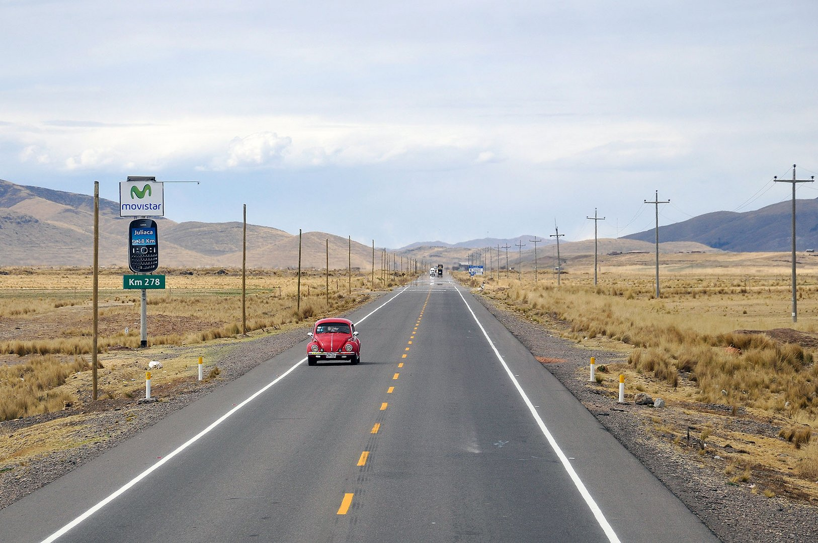 On the way to Puno