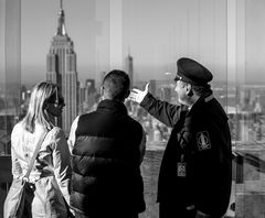 "on ""top of the rock"""