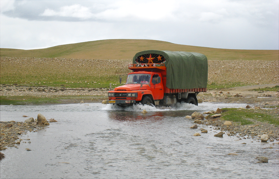 on tour tibet