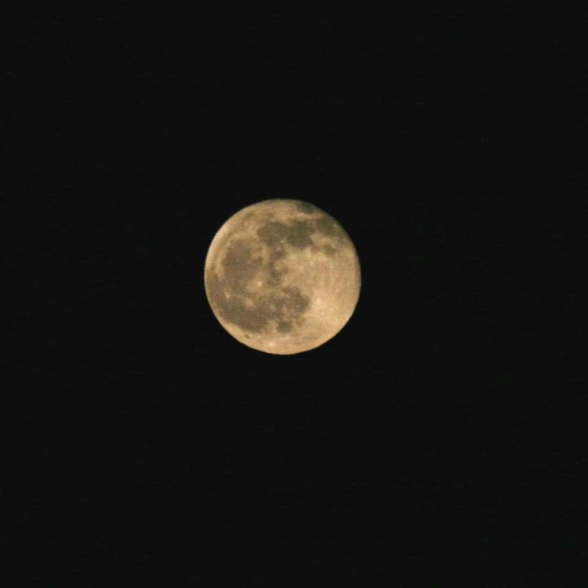 once again a full moon
