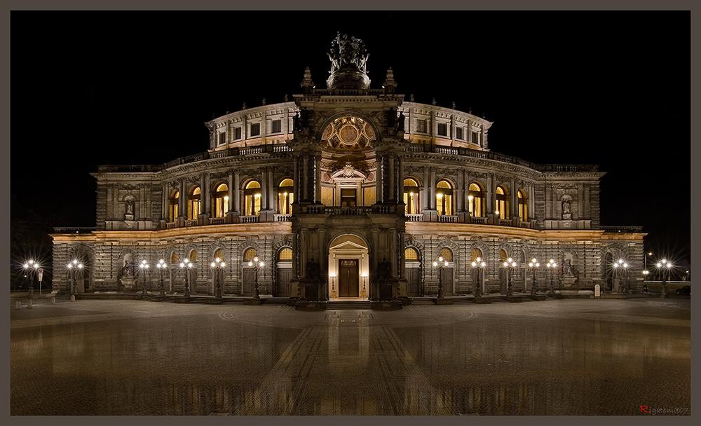 one day in Saxony - Dresden - Semperoper II