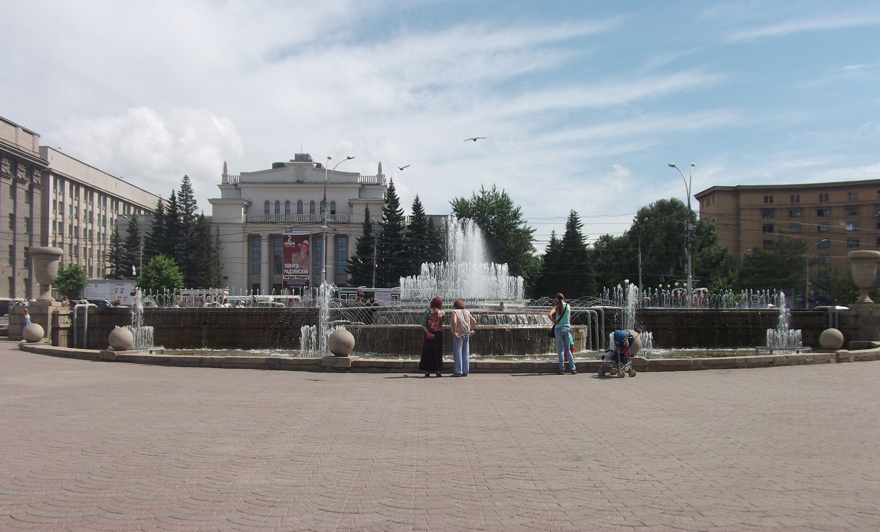 One day in the life of the city of Novosibirsk...