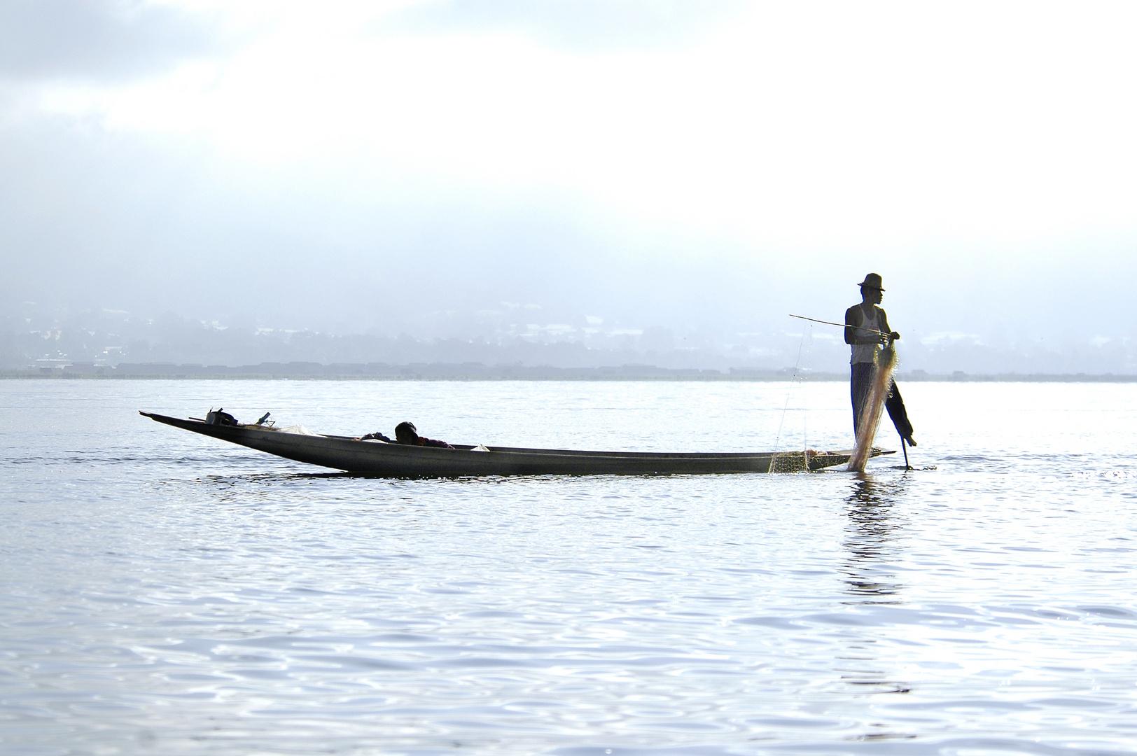 One Leg Rowing