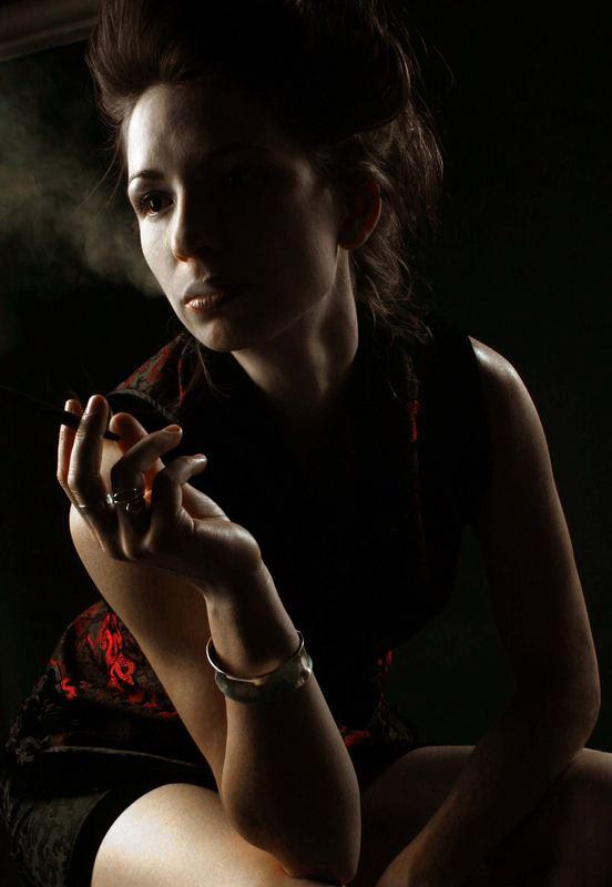one more cigarette