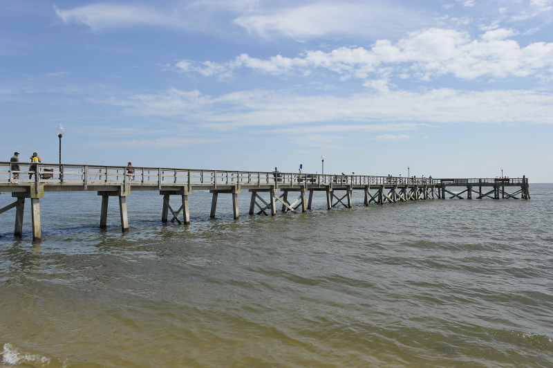 One more pier