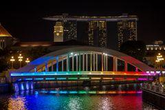 one night in Singapore