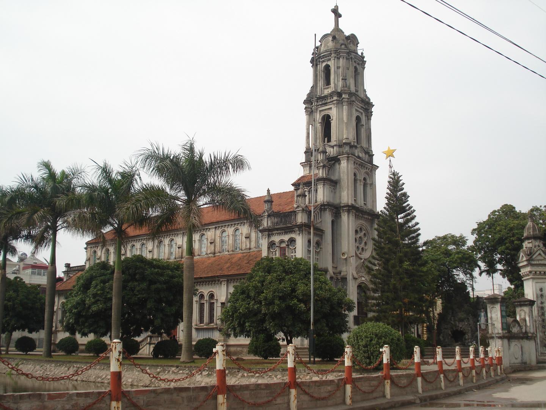 one of the church in Hanoi