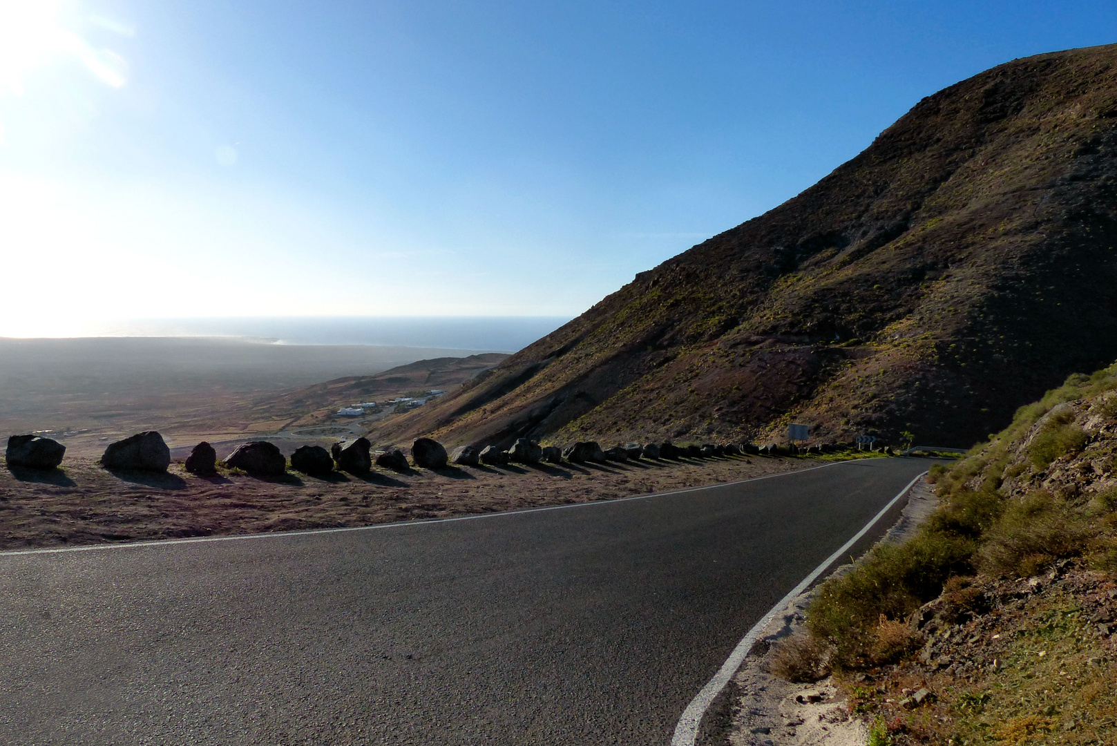 One of the roads of Lanzarote