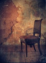 one old chair