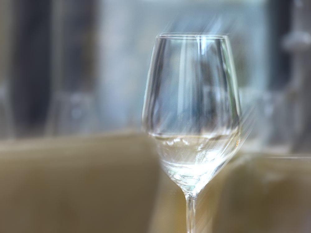 One wine glass