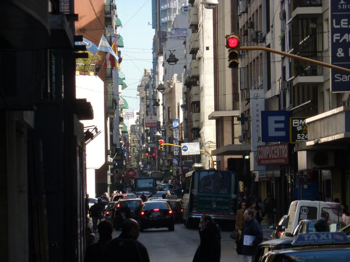 Oneway traffic in B.A.