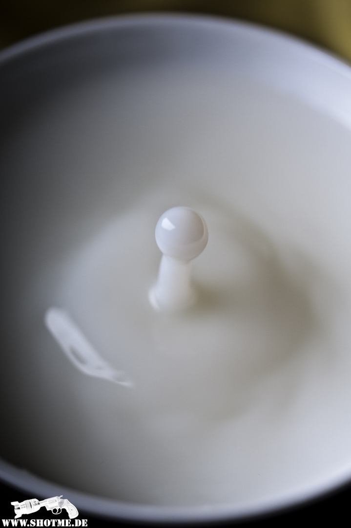 Only a drop of Milk!