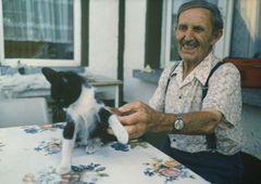 """Opa (89 Jahre) und """"Minka"""""""