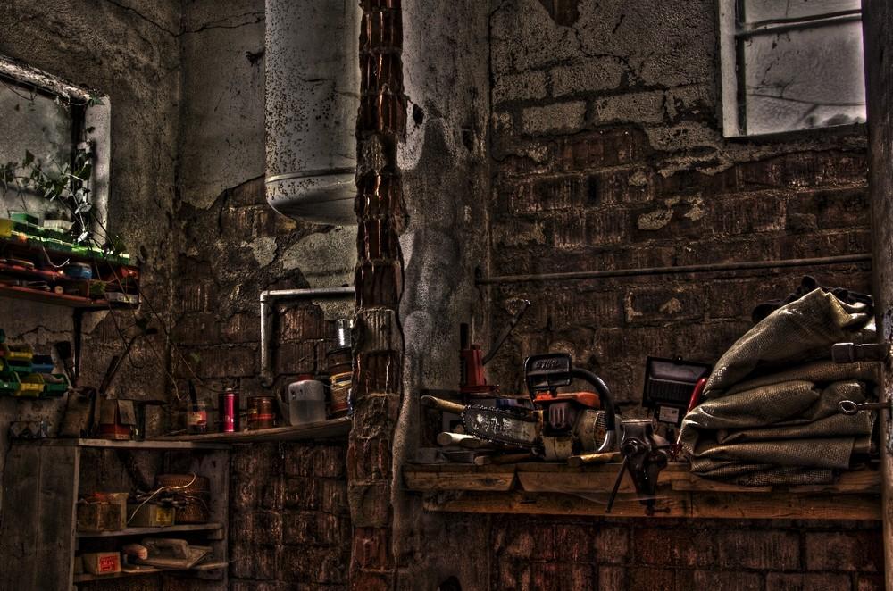 Opa's kleine Werkstatt