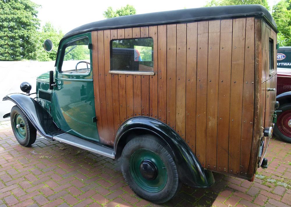 Opel als Kastenwagen