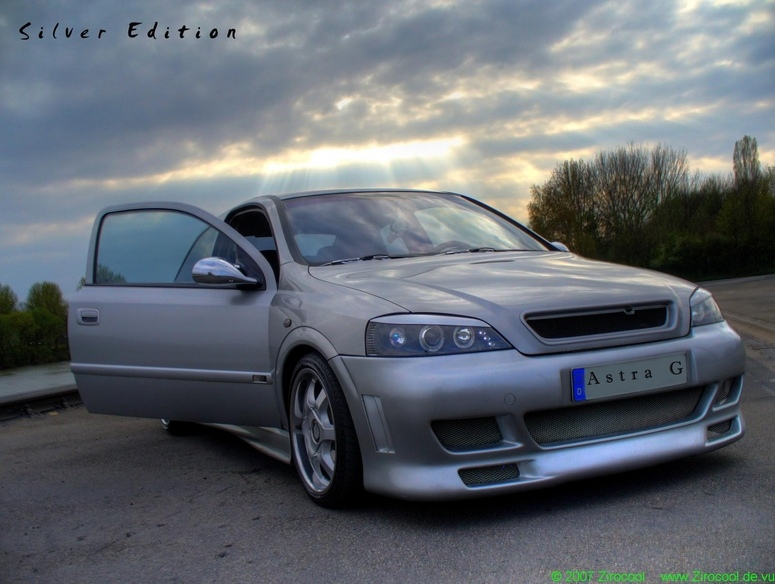 Opel-ASTRA-G Silver Edition