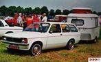 Opel Kadett C Caravan mit Caravan