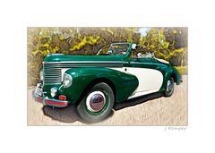 - Opel Kapitän Cabriolet Super Sport von 1952 -