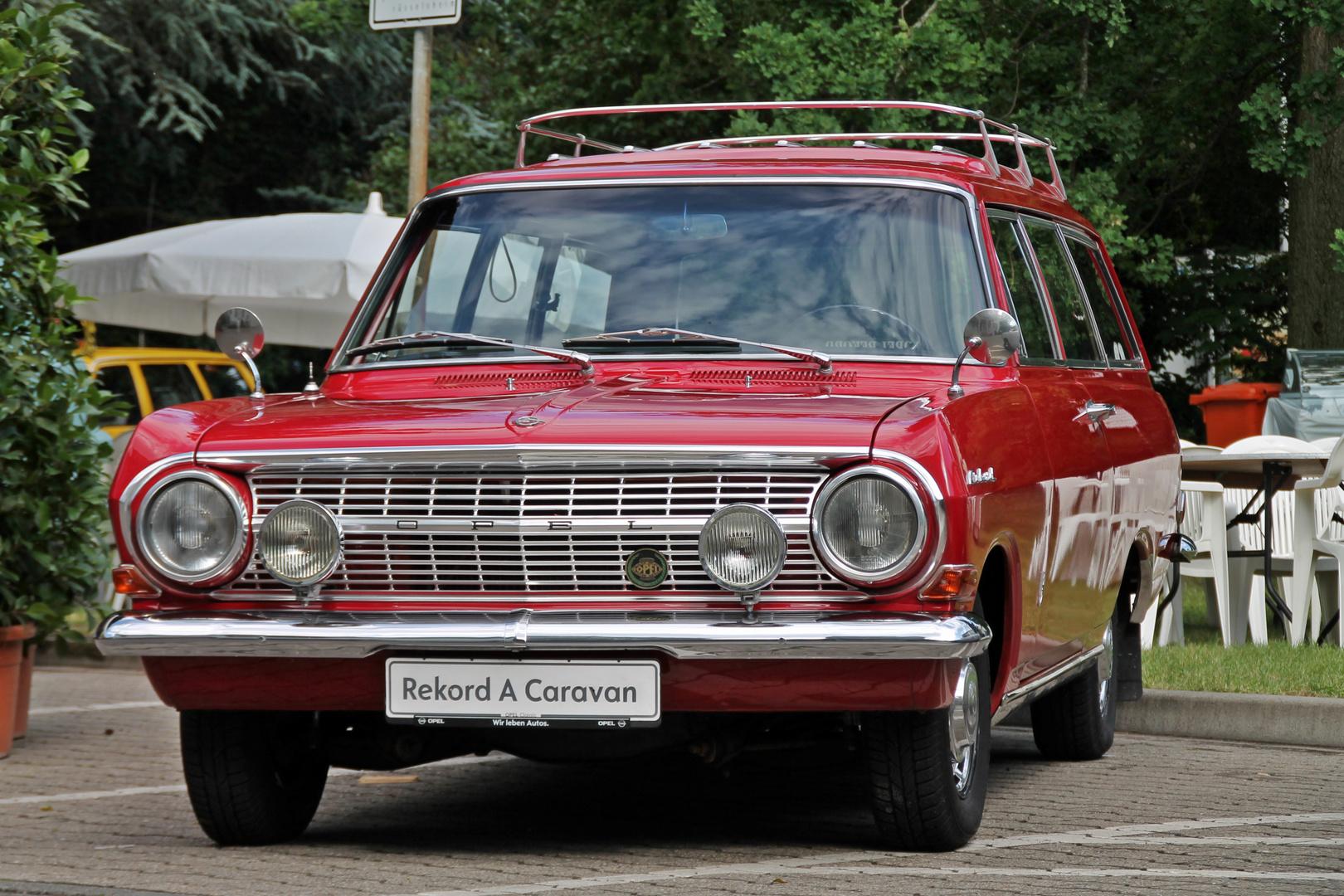 Opel Rekord A Caravan