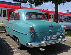Opels erster Ponton - Heck