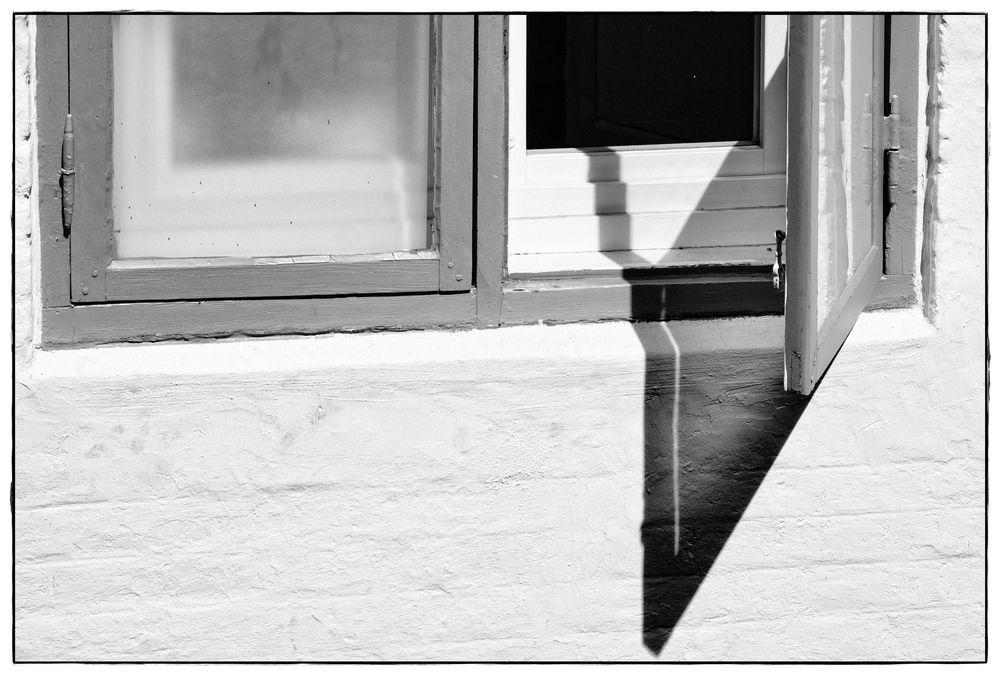 open window in the sun