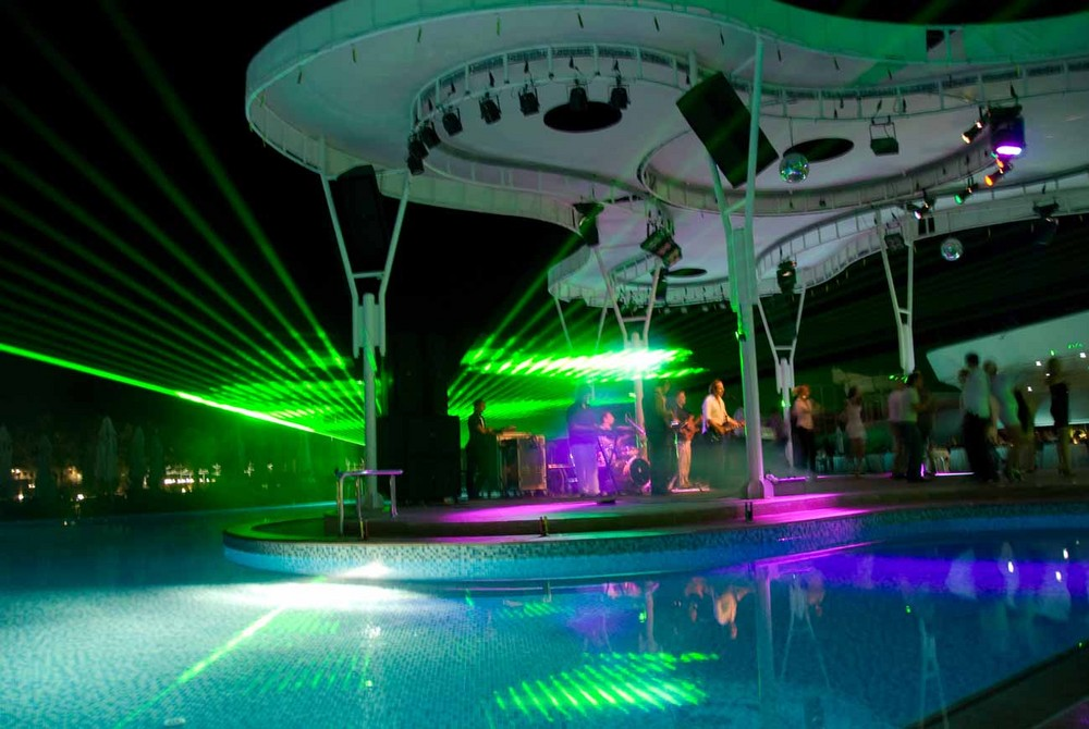 Openairdisco am Pool