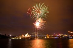 Opera House with some fireworks