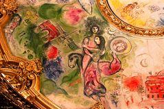 Opéra National - Marc Chagall (3 Ausschnitte)
