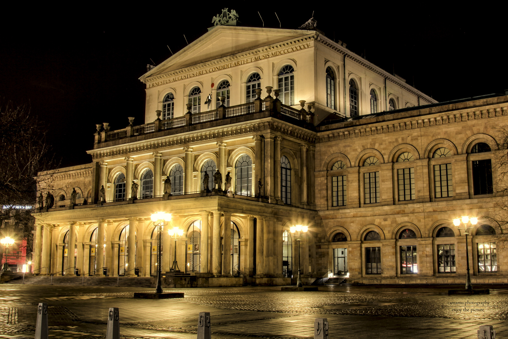 Opernhaus Hannover am Heiligabend 2014 - 1