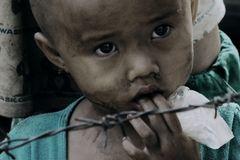 Opfer des Bürgerkrieges in Burma
